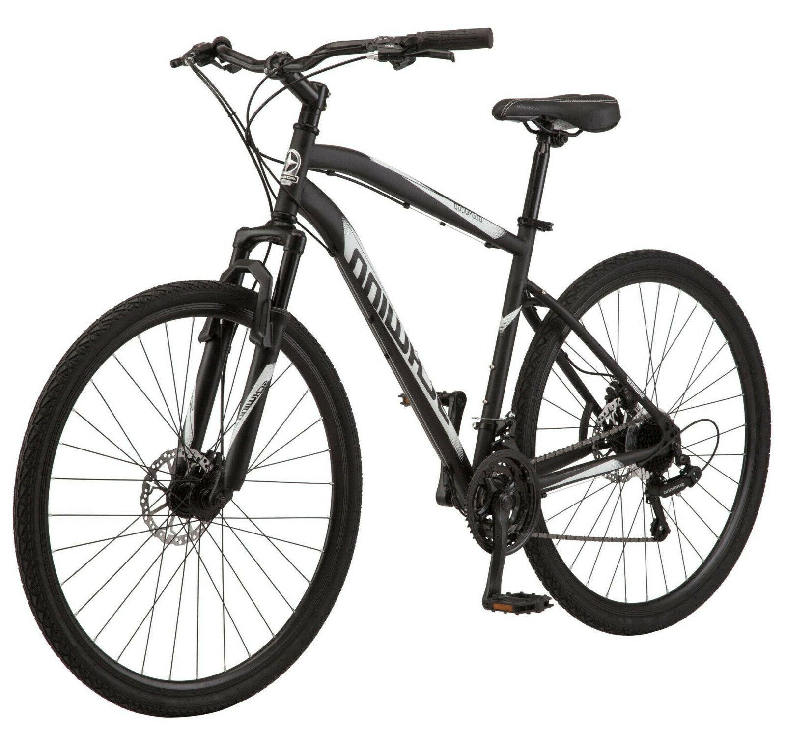Schwinn S5712WMDS Mens Hybrid Bike~Bicycle~Black~Assembled~ NEW
