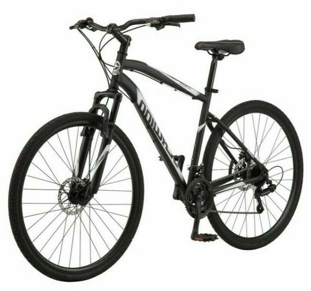 s5712wmds 700c glenwood mens hybrid bike black