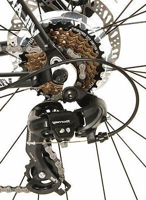 Vilano Bike Shimano Integrated Shifters, Tektro Disc