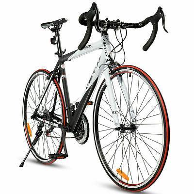 Shimano 52cm Aluminum Road/Commuter Bicycle 21 Speed Quick