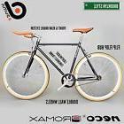 BK DUMA Single Speed Urban Lightweight Road Bike Black Orang