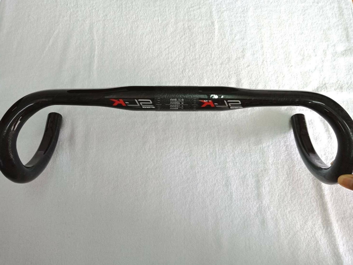 sl k carbon compact handlebar 42cm black
