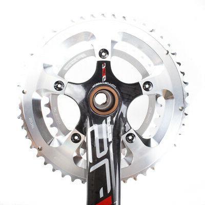 FSA Light Compact Carbon Bike EVO386 34/50T 170mm No BB Red