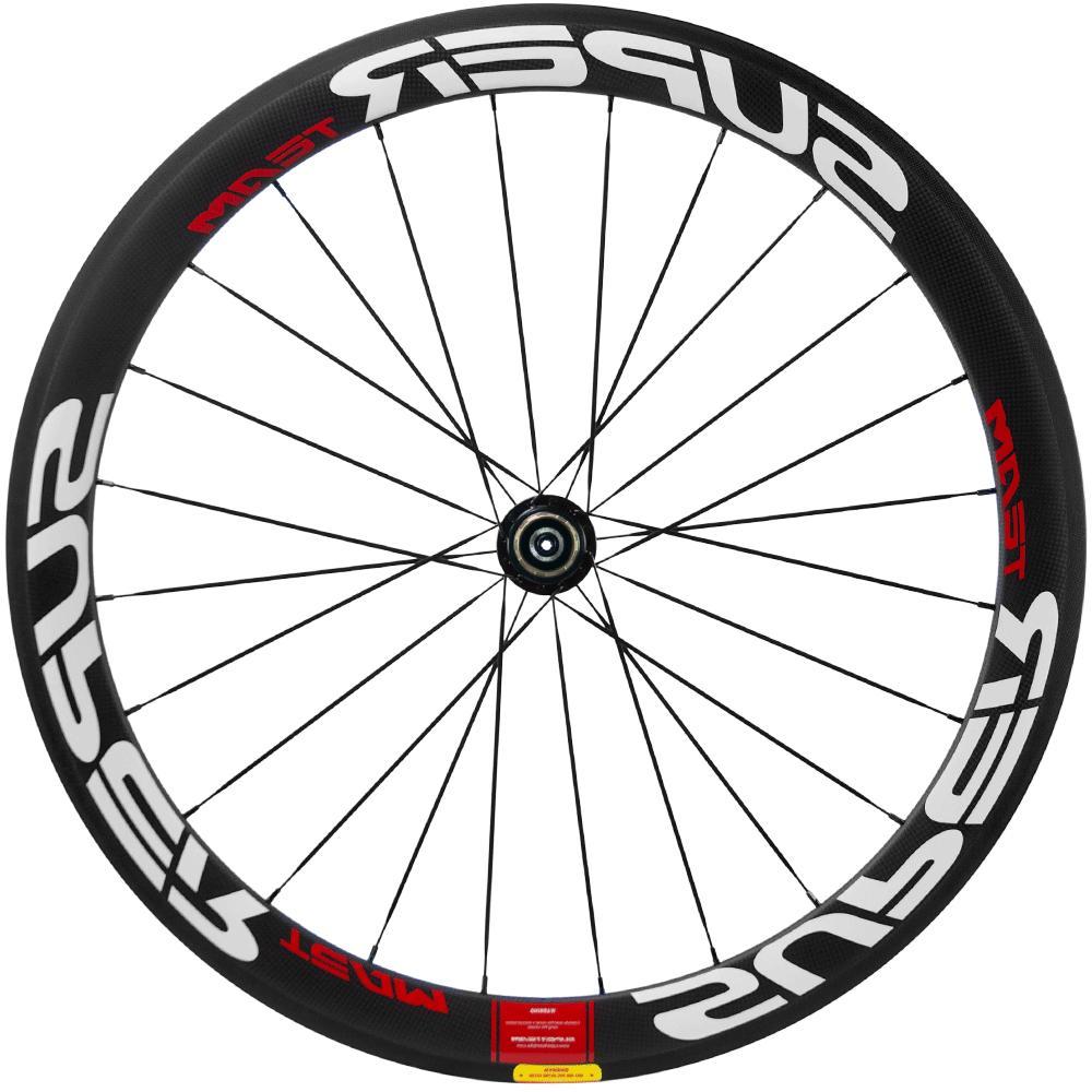 UCI Carbon Wheelset Road Bike Superteam Clincher