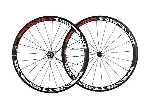 superteam carbon fiber wheelset 700c