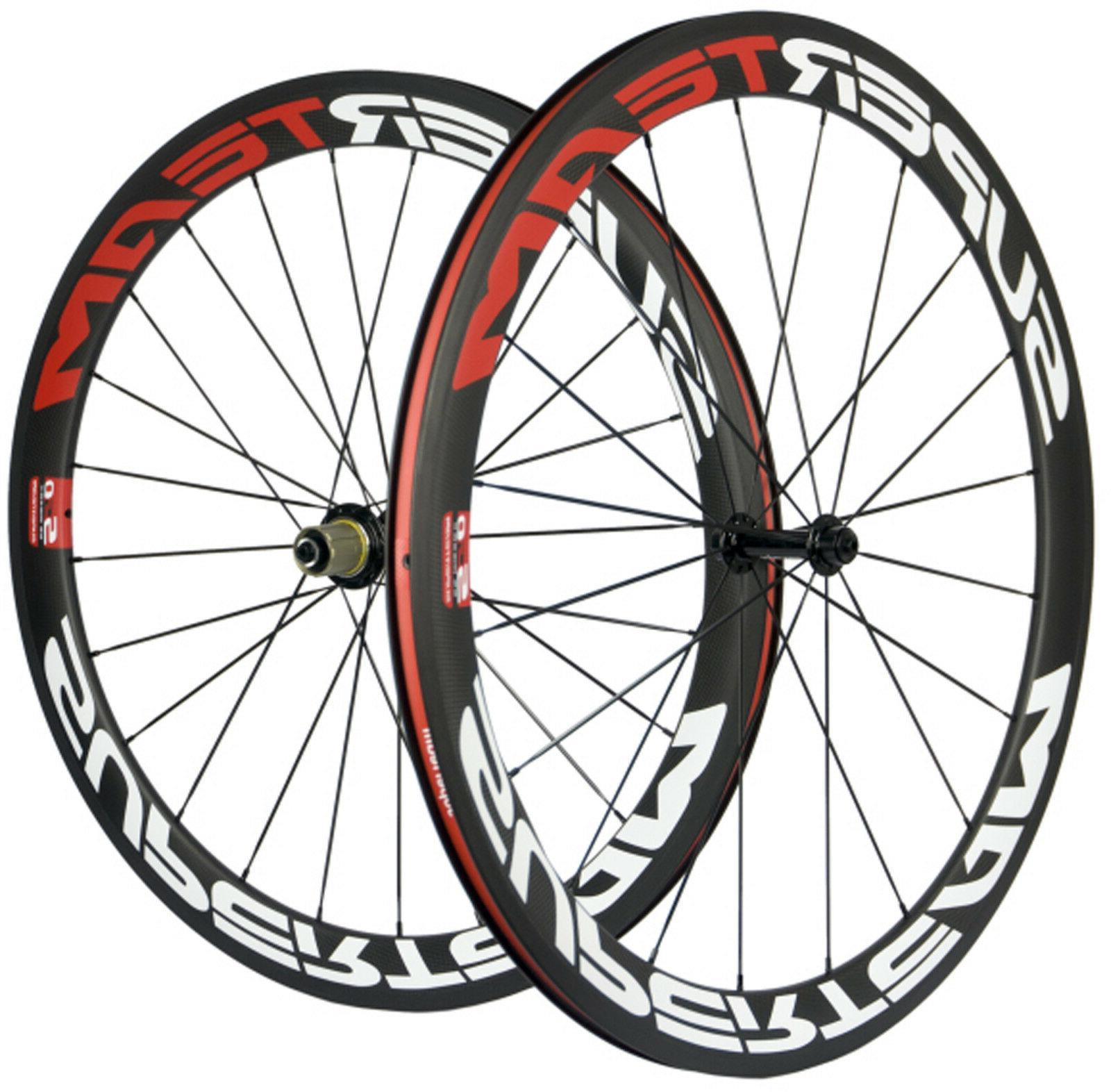 Superteam Carbon Wheels Road Carbon 3k Matte 700C Bike