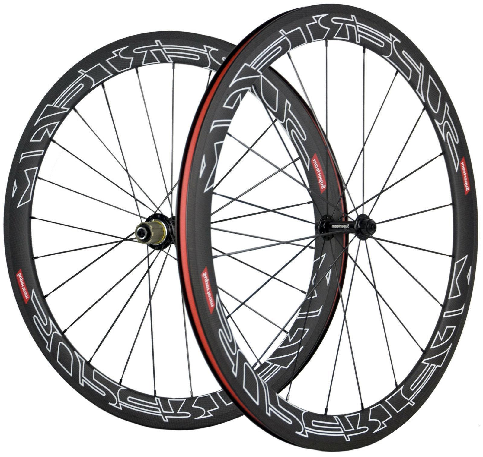 Superteam Carbon 50mm Road 3k 700C Bike