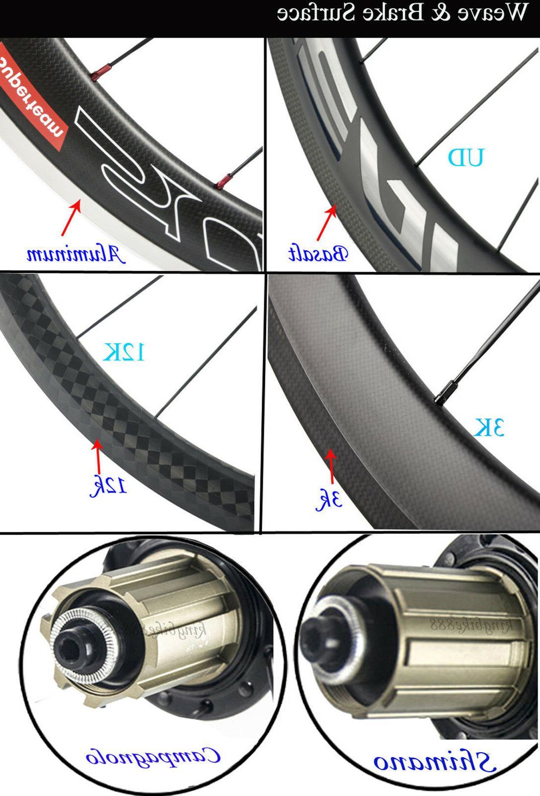 Superteam Wheels 50mm Road Carbon Wheelset 3k