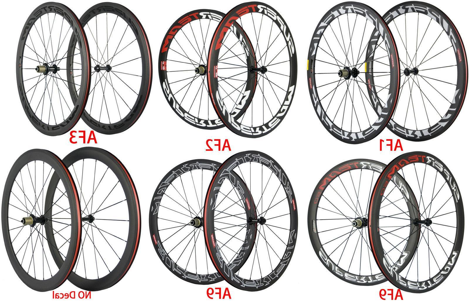 superteam carbon wheels 50mm road bike carbon