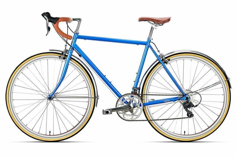 troy 16 speed classic road bike full