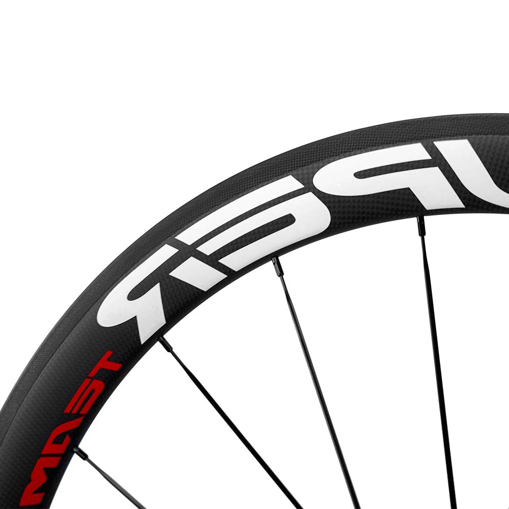 UCI 700C 50mm Wheelset Bike Superteam Clincher 23mm/25mm