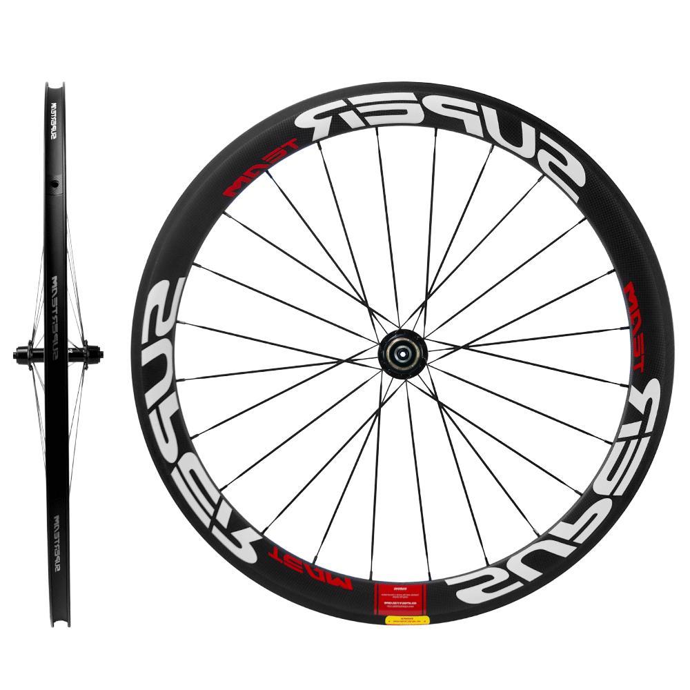 UCI 700C 50mm Carbon Wheelset Clincher Wheels