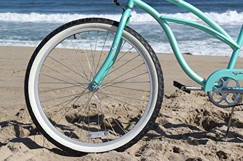 Firmstrong Speed, Mint Green Women's 26 Beach Cruiser Bike