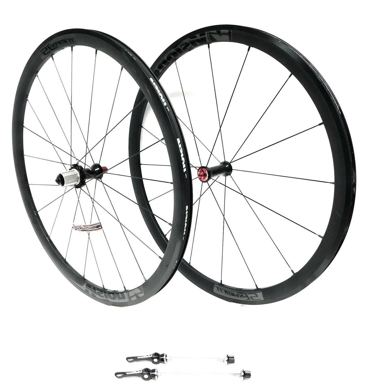 vision trimax 35 road bike wheelset 700c