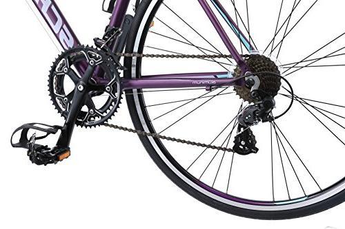 Schwinn Volare 1400 700C Bicycle, Purple, 48 cm/One