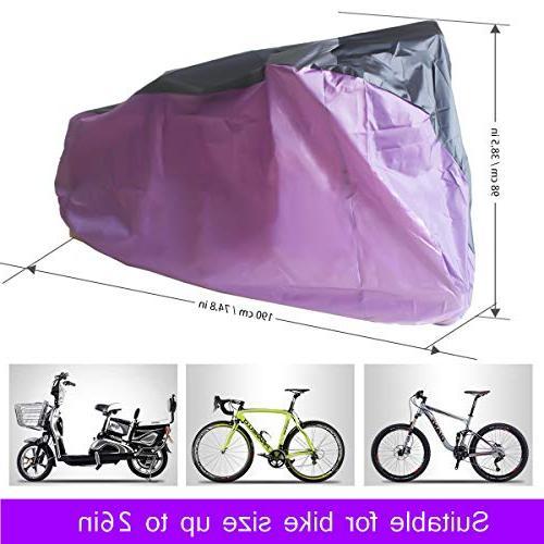 Top-spring Waterproof Bike Bicycle Cover, Outdoor Mountain, City Bike, Beach Cruiser