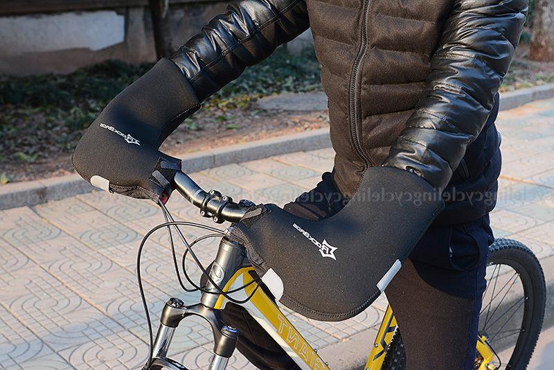 RockBros Winter Cycling Gloves Road Bike Handlebar Mittens Mitts Warmer