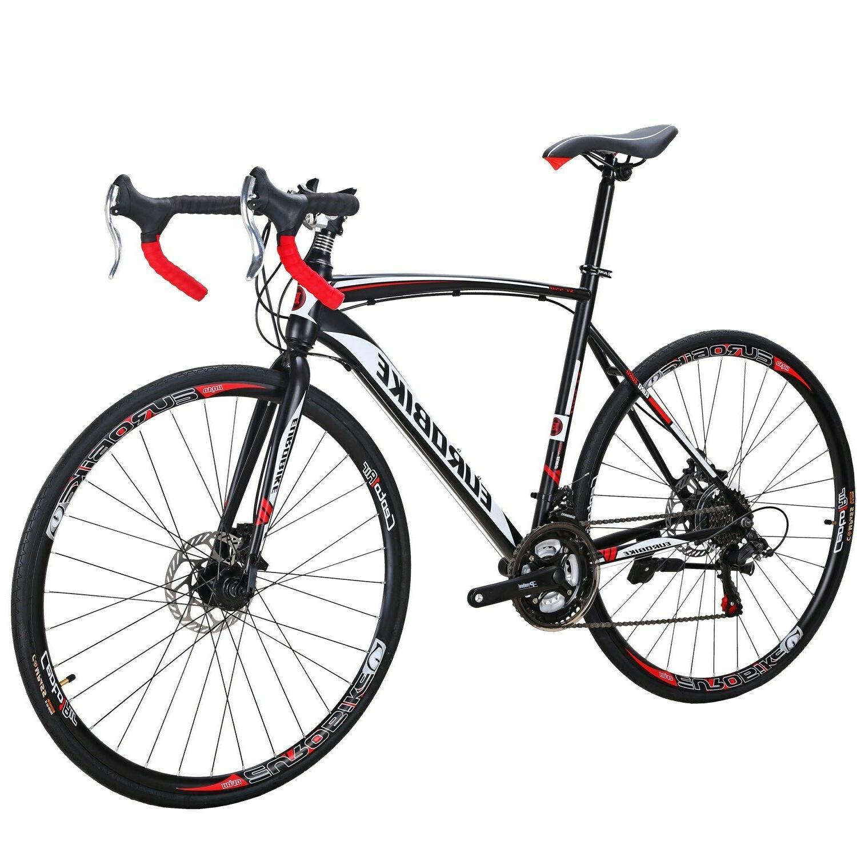 54cm road bike 700c wheels mens shimano
