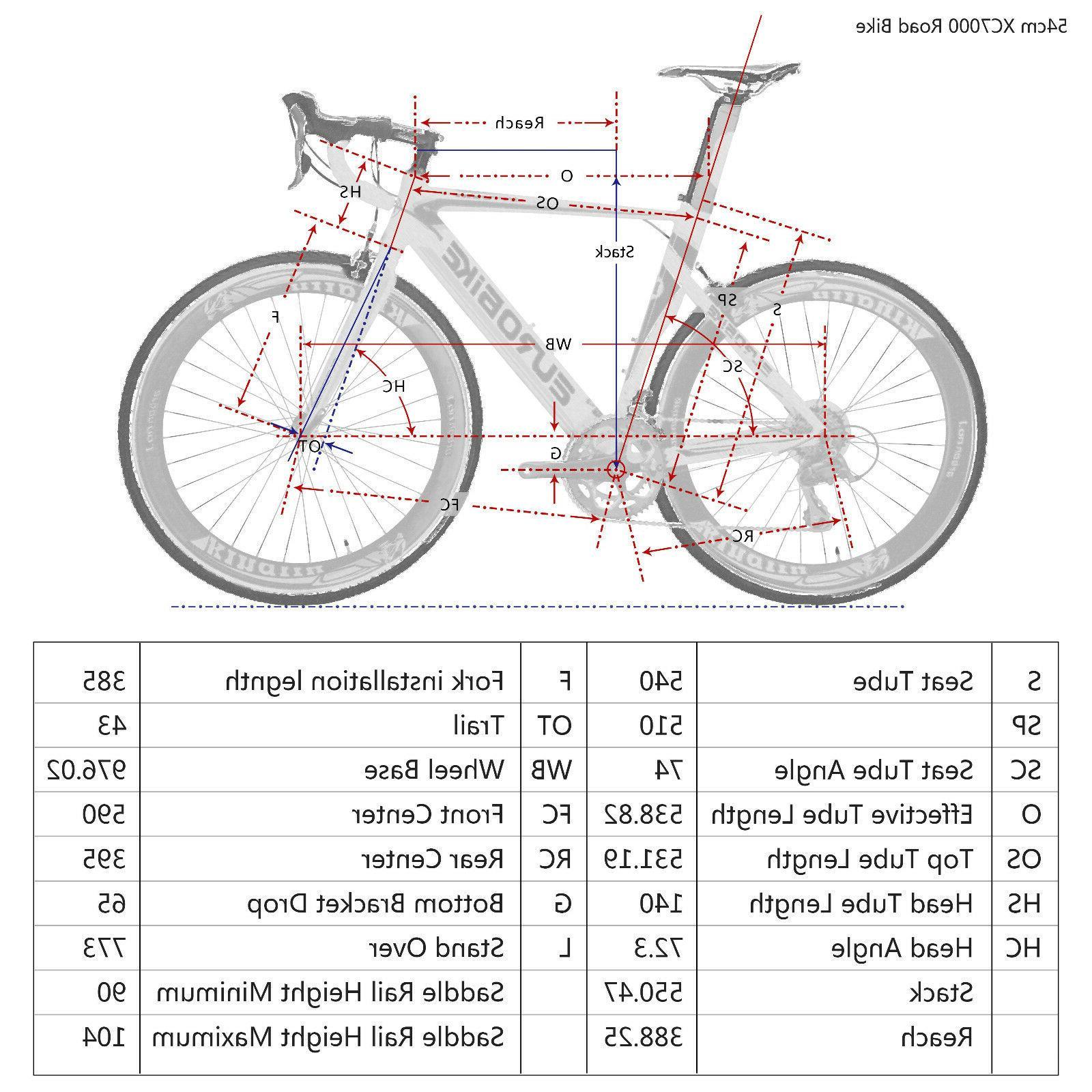 Road Bike Frame Bicycle Bikes Speed 54cm