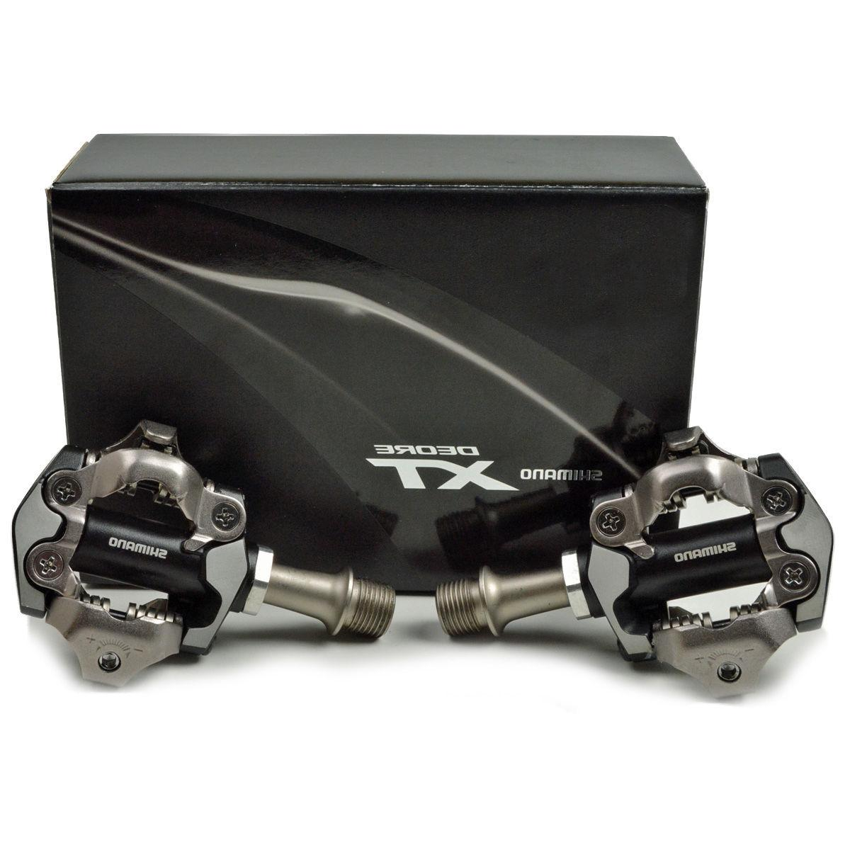 Shimano Deore XT PD-M8000 SPD MTB Mountain Bike Pedals Set New in Retail Box