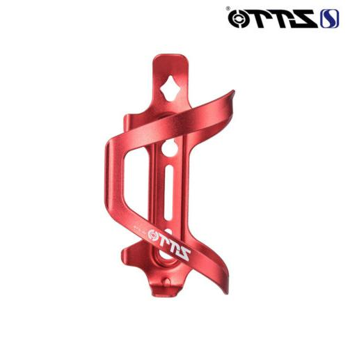 ZTTO Ultralight Cage Holder Black/Red MTB Mountain