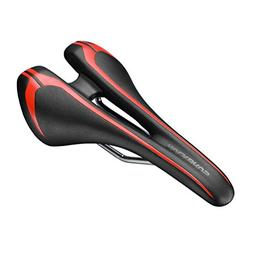 RockBros Leather Mountain Bike Seat Comfort Bicycle Hollow S