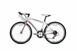 Giordano Libero 1.6 Road Bike  Light Pink/White Girl's