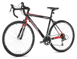 Giordano Libero 1.6 Road Bike, Black/Red, 51cm/Small
