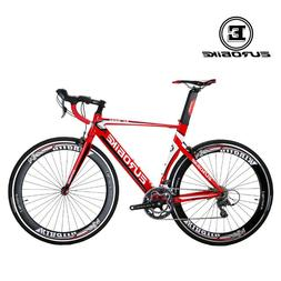 Light Aluminium Road Bike 700C Shimano 16 Speed Bicycle Mens