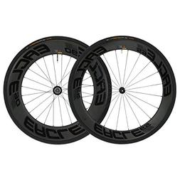 Eagle Lightweight Carbon Fiber Clincher Wheelset in Black fo