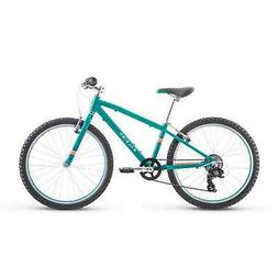 Raleigh Bikes Lily 24 Kids Mountain Bike for Girls Youth 9-1