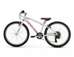 "Raleigh Lily 24 White 24"" Bike 791964529378"