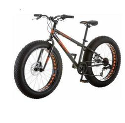 """Mongoose Logan Boy's Fat Tire Bicycle, Grey, 24"""" for Boys Wi"""
