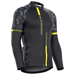 4ucycling Men's Team Wear Cycling Jersey bike shirt Long Sle