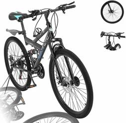 Lroplie R2 Commuter Aluminum Road Bike 21 Speed Bicycle Full