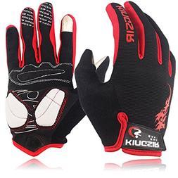 Kanchimi Size S M L XL Bicycle Cycling Gloves Full Finger Bi