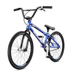 Mongoose Title Expert BMX Race Bike, 20-Inch Wheels, Blue