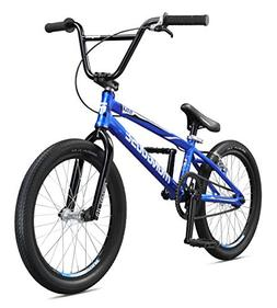 Mongoose Title Pro XXL BMX Race Bike, 20-Inch Wheels, Blue
