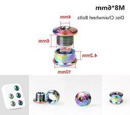 Gub M86mm Colorful Titanium Alloy Bike Chainwheel Disc Bolts