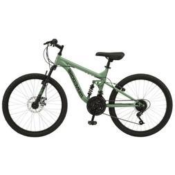 💎 MongooseMajor Mountain Bike, 24-inch wheels, 18 speeds,