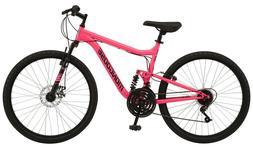 Mongoose Major Mountain Bike, 26-inch wheels, 18 speeds, pin