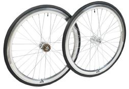 Retrospec Bicycles Mantra Fixed-Gear/Single-Speed Wheelset w