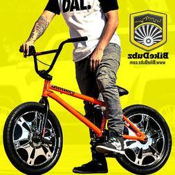 BikeDubz Mayhem 20 Inch Wheel Covers For BMX Bicycle Fits Fe