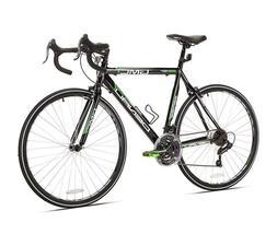 Men 21 Speed Road Bike Black And Green Alloy Calipers Brakes