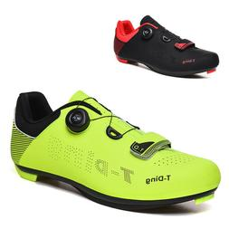 Men's Cycling Shoes Athletic Bike Ultralight Sneakers For Al