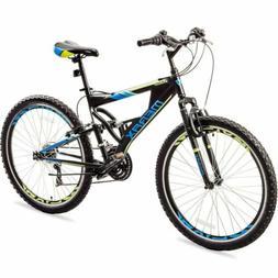 Merax Mens Mountain Bike 21 Speed Aluminium Frame Bicycle 26