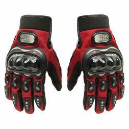 Men's MTB Road Bike Cycling Anti-Slip Full Finger Gloves O