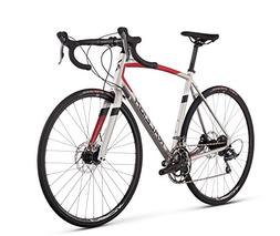 RALEIGH Bikes Merit 2 Endurance Road Bike, Silver, 62cm/XX-L