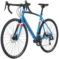 Raleigh Bikes Merit 3 Endurance Road Bike, Blue, 56cm/Large