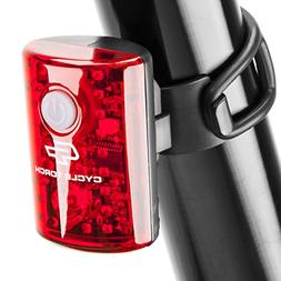 Cycle Torch USB Rechargeable Bike Tail Light MicroBot LED Bi